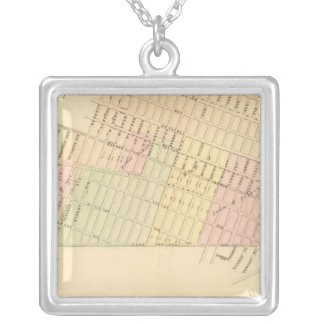 Sec 9 East New York Silver Plated Necklace