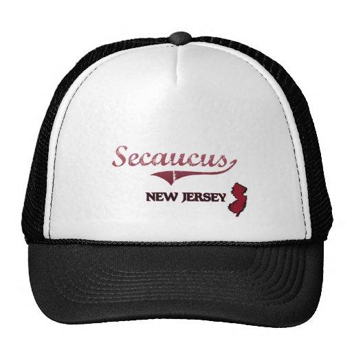 Secaucus New Jersey City Classic Trucker Hat