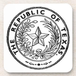 Secede Republic of Texas Beverage Coasters
