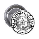 Secede Republic of Texas Button