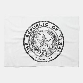 Secede Republic of Texas Hand Towel