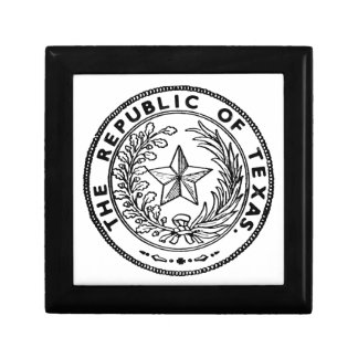 Secede Republic of Texas Small Square Gift Box
