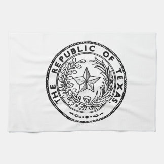Secede Republic of Texas Tea Towel