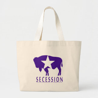 Secession Iconic Bison Large Tote Bag