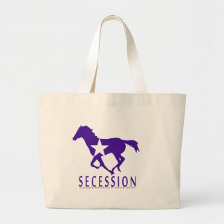 Secession WIld Mustang Large Tote Bag