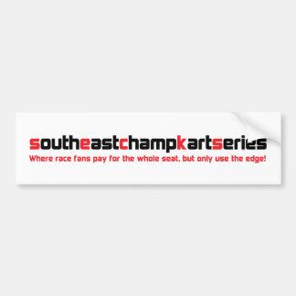 SECKS-On The Edge Bumper Stickers