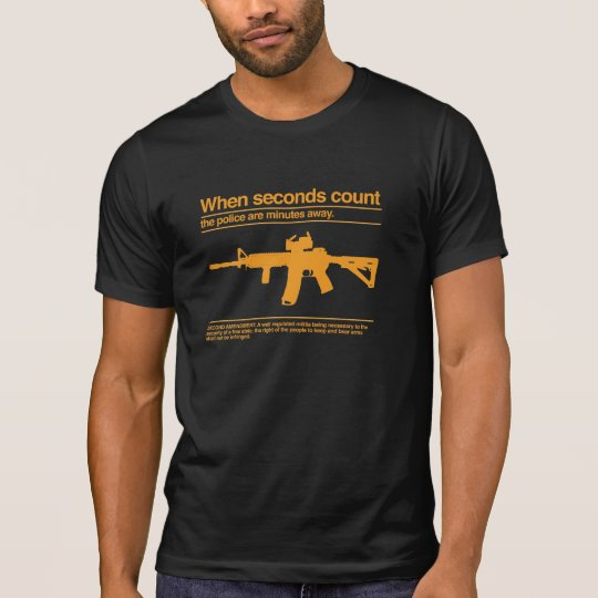 Second Amendment / AR-15 / Police T-Shirt