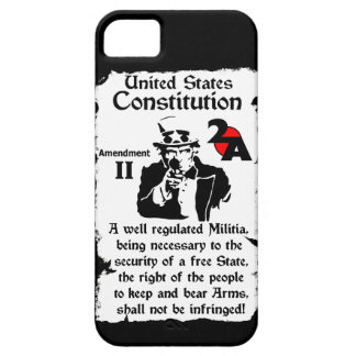Second Amendment! Barely There iPhone 5 Case