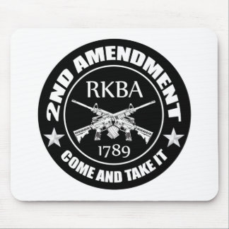 Second Amendment Come And Take It RKBA AR's Mouse Pad