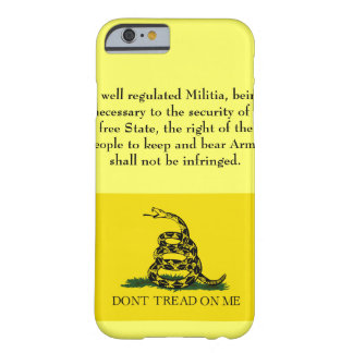 Second Amendment - Don't Tread on Me Barely There iPhone 6 Case