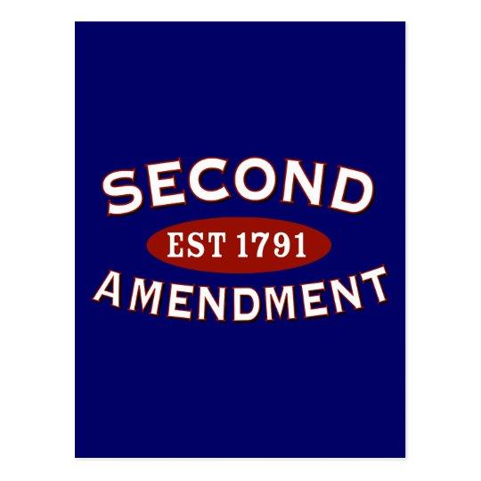 Second Amendment Est. 1791 Postcard