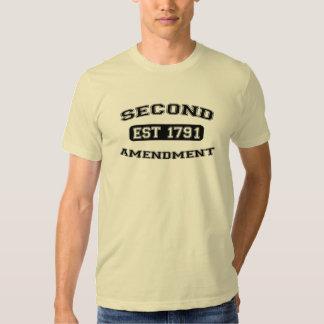 second amendment est 1791 t shirt