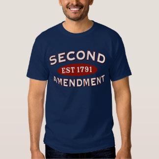Second Amendment Est. 1791 T Shirts