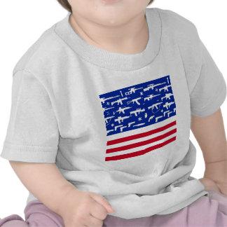 Second Amendment Flag Tee Shirt