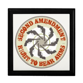 Second Amendment Large Square Gift Box