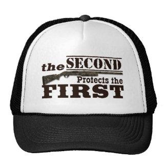 Second Amendment Protects First Amendment Cap