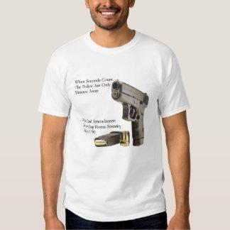 Second Amendment Security Tee Shirts