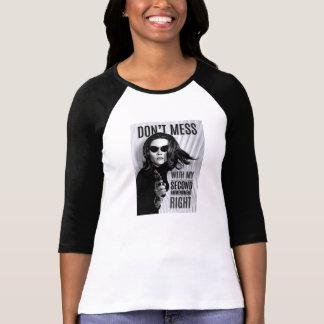 Second amendment woman tee shirt