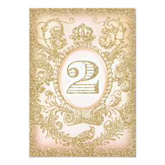 Second Birthday Once Upon a Time Princess 13 Cm X 18 Cm Invitation Card