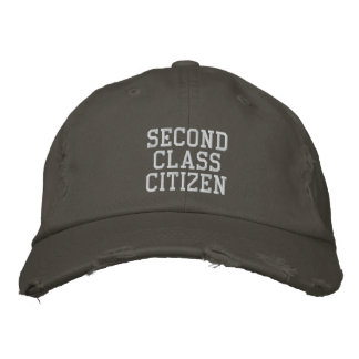 SECOND CLASS CITIZEN THE HAT EMBROIDERED HATS