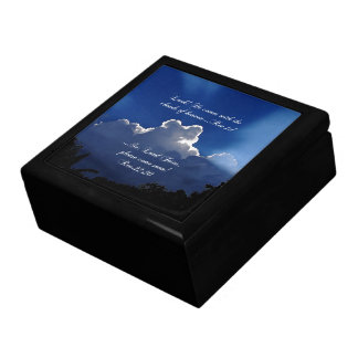 Second Coming Inspirational Scripture Gift Box