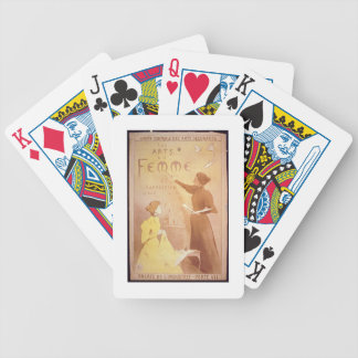 'Second Exhibition of Women's Art, Palais de L'Ind Bicycle Playing Cards