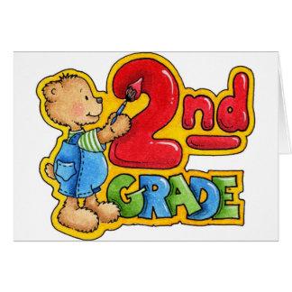 Second Grade Card
