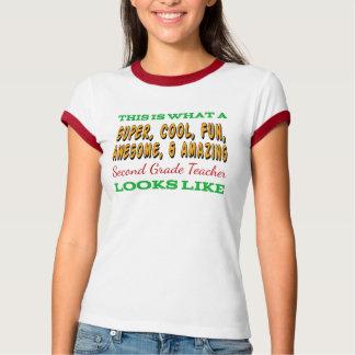 Second Grade Teacher | Awesome 2nd Grade Teacher T-Shirt