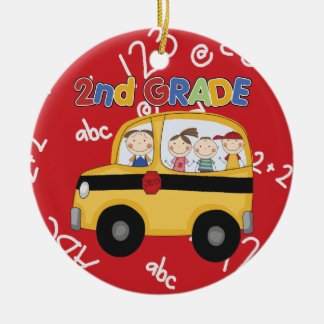 Second Grade Teacher Christmas Ornament