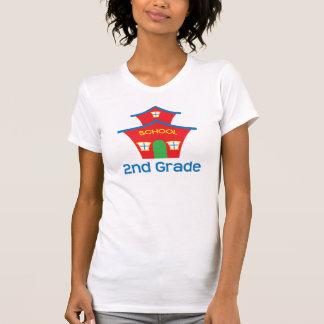 Second Grade Teacher Schoolhouse Gift Tshirt