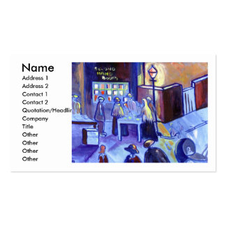 SECOND HAND BOOKS PACK OF STANDARD BUSINESS CARDS
