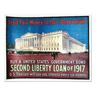 Second Liberty Loan Personalized Invite