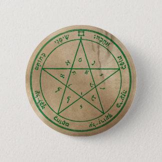 Second Pentacle of Venus 6 Cm Round Badge