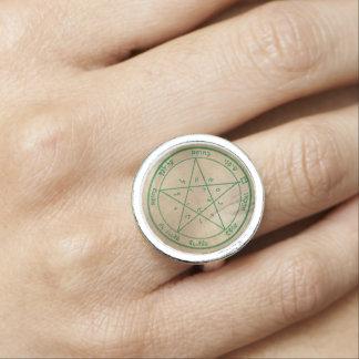 Second Pentacle of Venus Ring