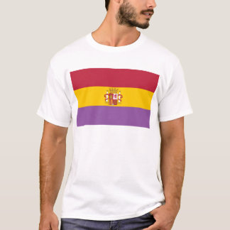 Second Spanish Republic Flag (1931-1939) T-Shirt