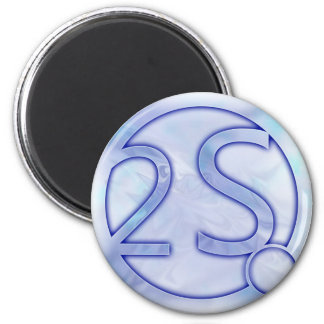Second Sphere 6 Cm Round Magnet
