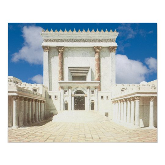Second Temple Poster