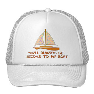 Second To My Boat Hat