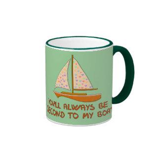 Second To My Boat Mug