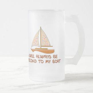 Second To My Boat Coffee Mug
