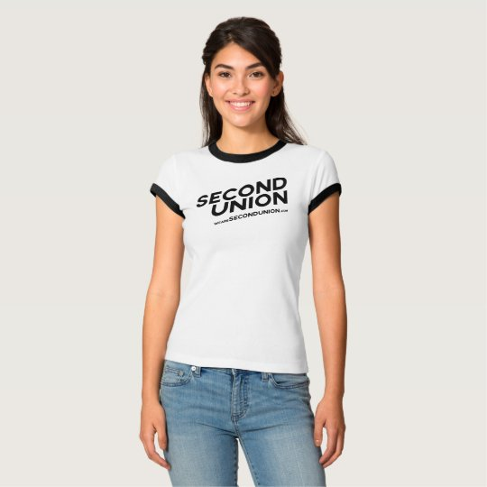 Second Union Women's Ringer Tee