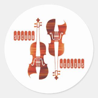Second Violins Stickers