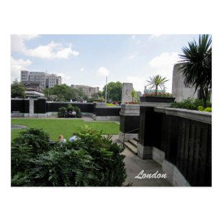 Second World War Memorial Sunken Garden postcard