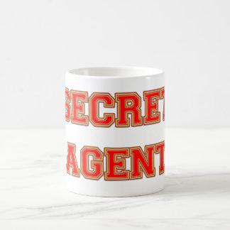 Secret Agent Basic White Mug