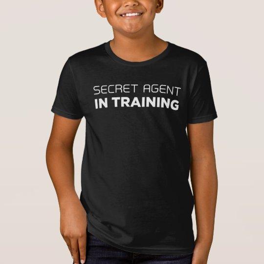 Secret Agent In Training T-shirt