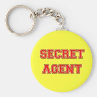 Secret Agent Keychain