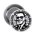 Secret Agent Obama Button
