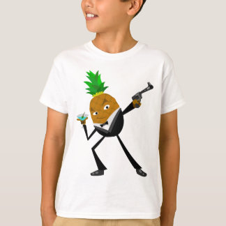 Secret Agent Pineapple T-Shirt
