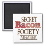 Secret Bacon Society Fridge Magnets