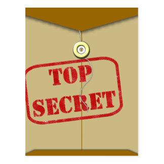 Secret Folder for Secret Cooks Post Cards